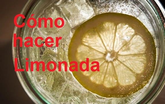 Cómo hacer limonada refrescante